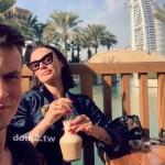 Алена Водонаева встретила Новый год в Дубае