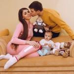 Дмитрий и Ольга Дмитренко показали трогательное видео с дочерью