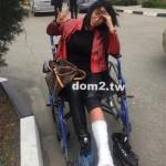 Виктория Берникова сломала ногу