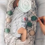 Алёна Рапунцель устроила новорожденному сыну первую фотосессию
