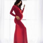 Богдана Кварацхелия еще не родила, но уже скучает по беременности