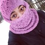 Либерж Кпадону маскируется, чтобы ее не узнавали на улицах