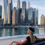 Марина Африкантова восхищается красотой Дубая