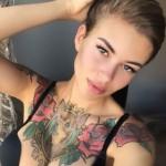 Лена Хромина вынуждена была постричь волосы