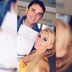 Шабарин и Роза подали заявление в ЗАГС