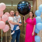 В семье Ольги и Ильи Гажиенко родился сын